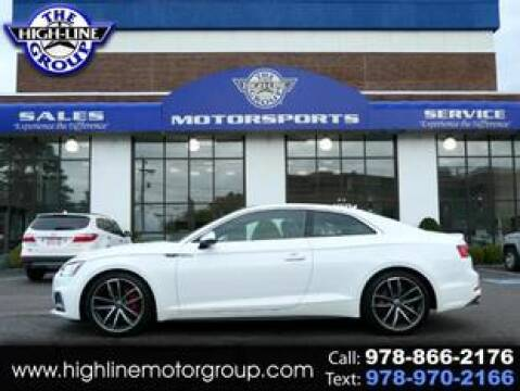 2018 Audi S5 for sale at Highline Group Motorsports in Lowell MA