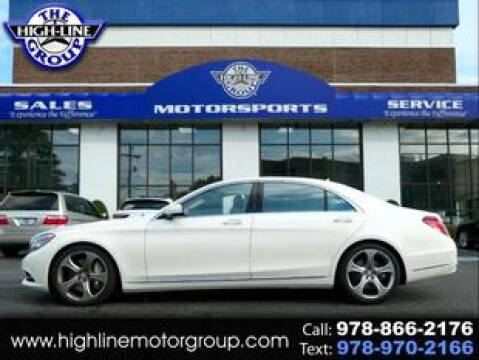 2014 Mercedes-Benz S-Class for sale at Highline Group Motorsports in Lowell MA