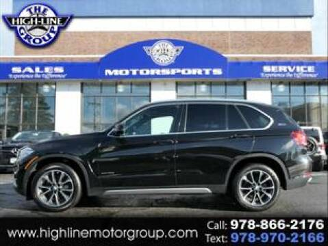 2017 BMW X5 for sale at Highline Group Motorsports in Lowell MA