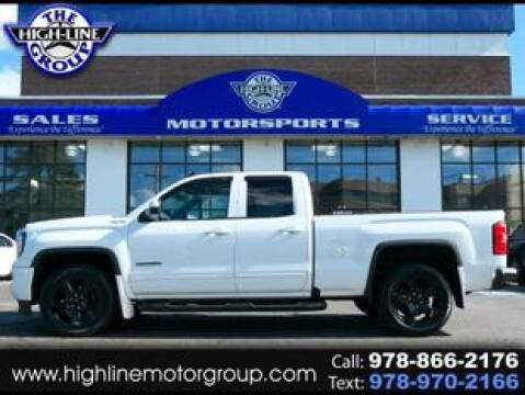 2017 GMC Sierra 1500 for sale at Highline Group Motorsports in Lowell MA