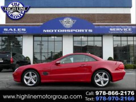 2005 Mercedes-Benz SL-Class for sale at Highline Group Motorsports in Lowell MA