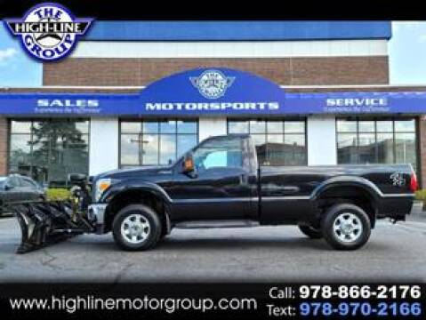2014 Ford F-250 Super Duty for sale at Highline Group Motorsports in Lowell MA