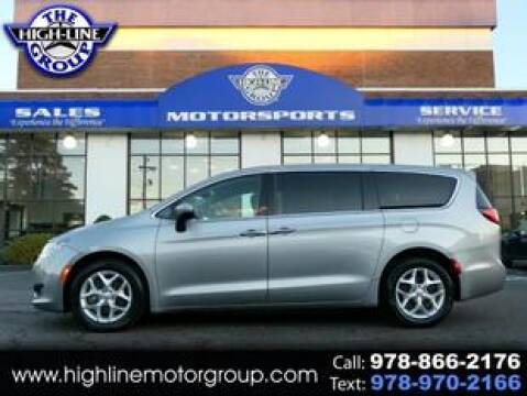 2017 Chrysler Pacifica for sale at Highline Group Motorsports in Lowell MA
