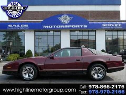 1985 Pontiac Firebird for sale at Highline Group Motorsports in Lowell MA