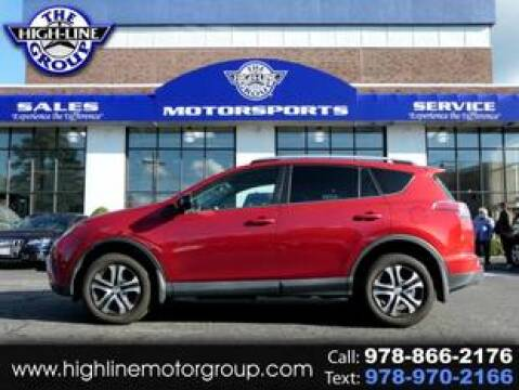 2016 Toyota RAV4 for sale at Highline Group Motorsports in Lowell MA