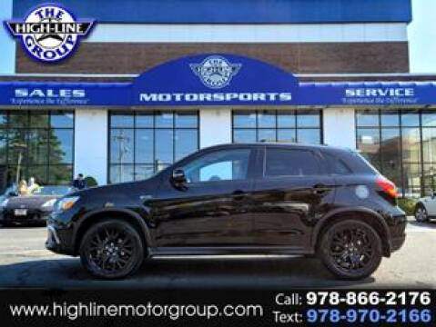 2019 Mitsubishi Outlander Sport for sale at Highline Group Motorsports in Lowell MA
