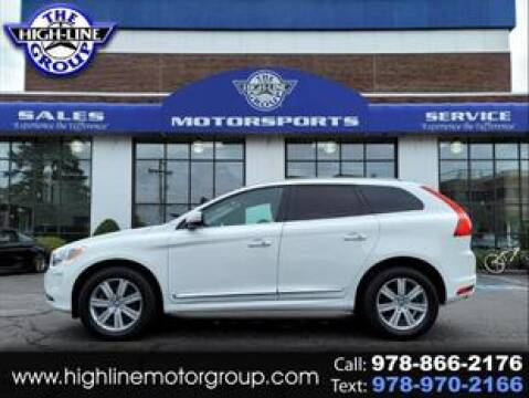 2016 Volvo XC60 for sale at Highline Group Motorsports in Lowell MA