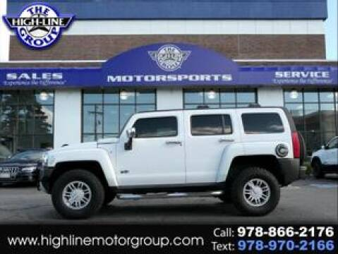2009 HUMMER H3 for sale at Highline Group Motorsports in Lowell MA