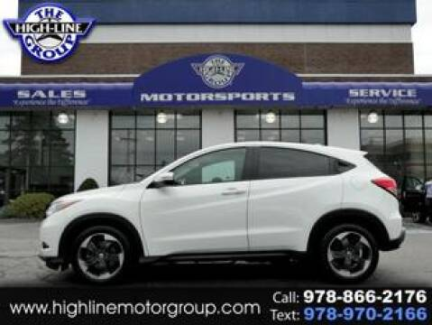 2018 Honda HR-V for sale at Highline Group Motorsports in Lowell MA