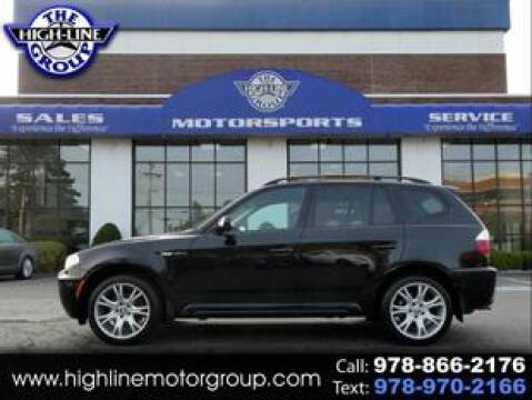 2007 BMW X3 for sale at Highline Group Motorsports in Lowell MA
