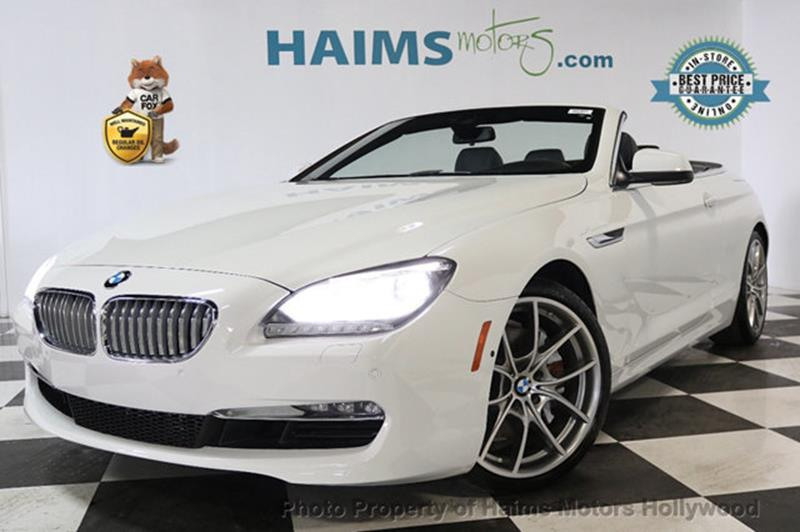 BMW 6 Series 2013 650i 2dr Convertible