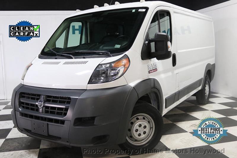 RAM ProMaster Cargo 2015 1500 136 WB 3dr Low Roof Cargo Van