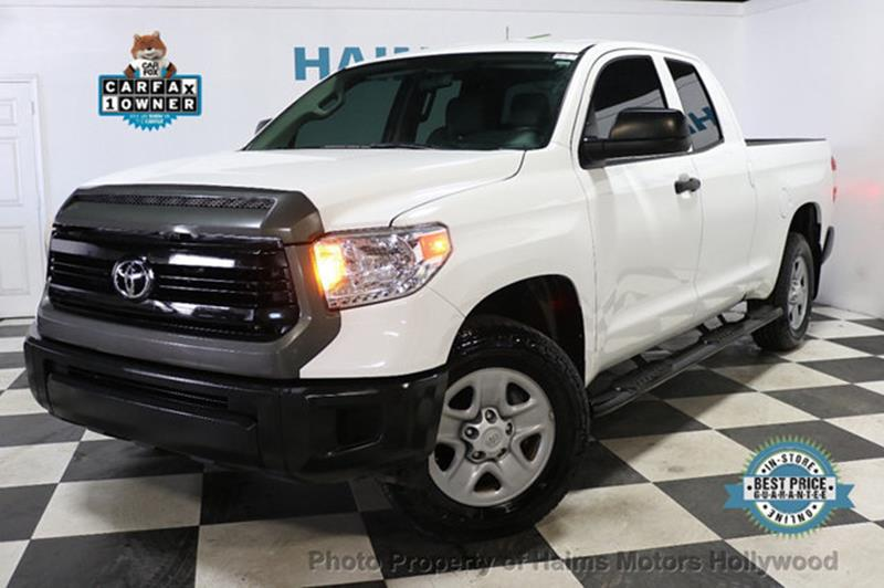 Toyota Tundra 2016 SR Double Cab 4.6L V8 4WD 6-Speed Automatic