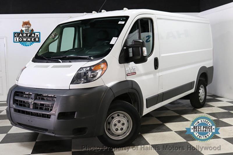 RAM ProMaster Cargo 2018 1500 136 WB 3dr Low Roof Cargo Van