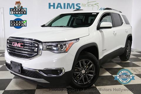 2018 GMC Acadia for sale in Hollywood, FL