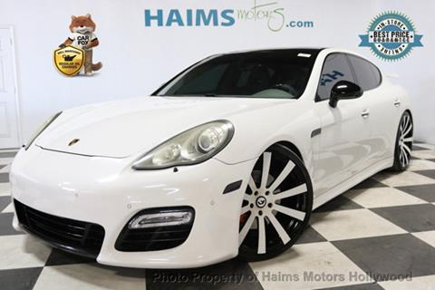 2010 Porsche Panamera for sale in Hollywood, FL