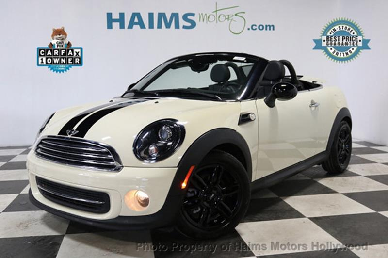 MINI Roadster 2015 Cooper 2dr Convertible