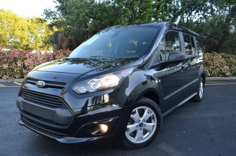 Ford Transit Connect Wagon 2015 XLT 4dr LWB Mini Van w/Rear Liftgate