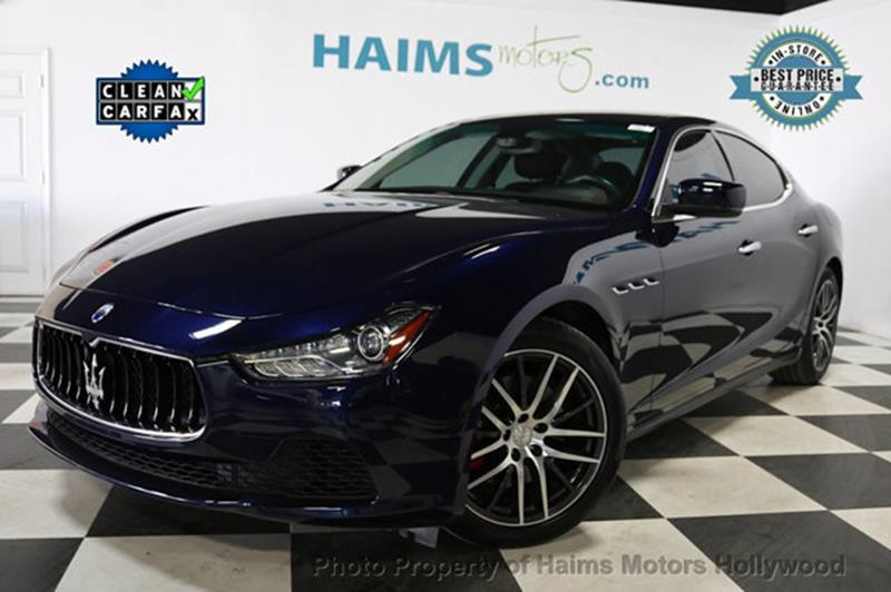Maserati Ghibli 2016 Base 4dr Sedan