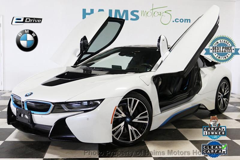 BMW i8 2015 Base AWD 2dr Coupe