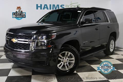 2016 Chevrolet Tahoe for sale in Hollywood, FL