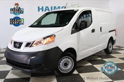 2018 Nissan NV200 for sale in Hollywood, FL