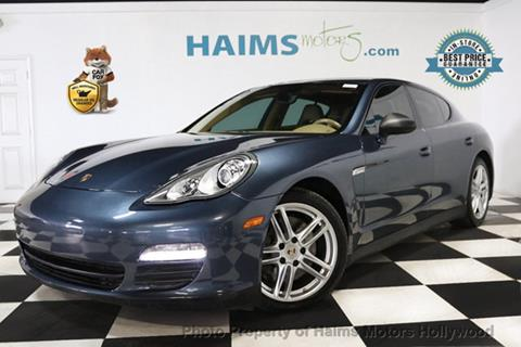 2012 Porsche Panamera for sale in Hollywood, FL