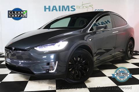 Used Tesla Model X For Sale >> 2017 Tesla Model X For Sale In Hollywood Fl