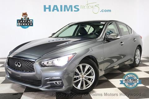 2015 Infiniti Q50 for sale in Hollywood, FL
