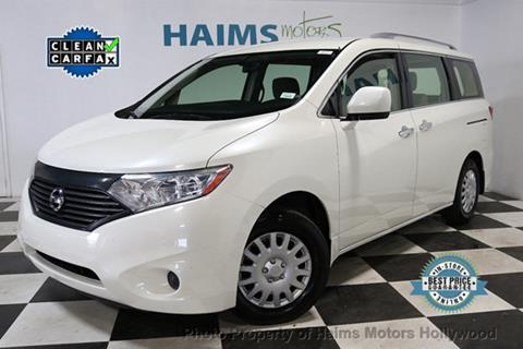2014 Nissan Quest for sale in Hollywood, FL