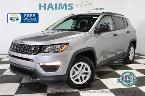 2018 Jeep Compass for sale in Hollywood, FL
