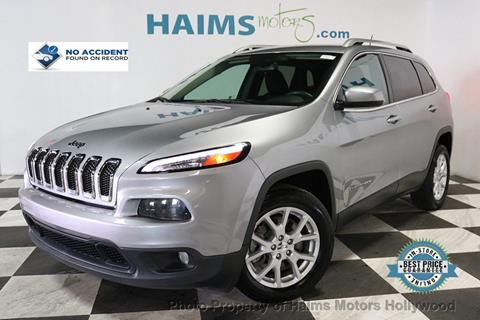 2014 Jeep Cherokee for sale in Hollywood, FL