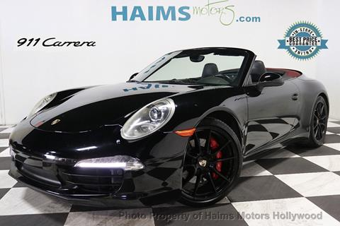 2013 Porsche 911 for sale in Hollywood, FL