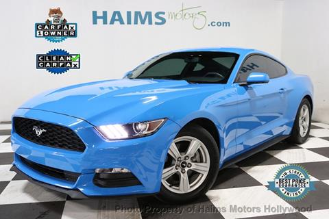 2017 Ford Mustang for sale in Hollywood, FL