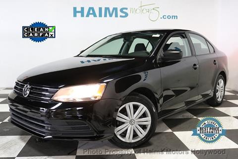 2015 Volkswagen Jetta for sale in Hollywood, FL
