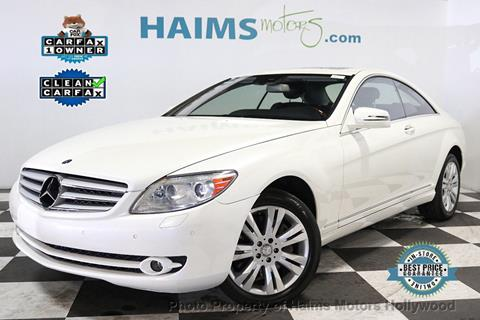 2010 Mercedes-Benz CL-Class for sale in Hollywood, FL