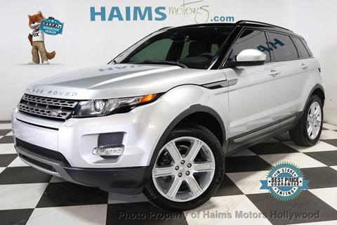 2015 Land Rover Range Rover Evoque for sale in Hollywood, FL