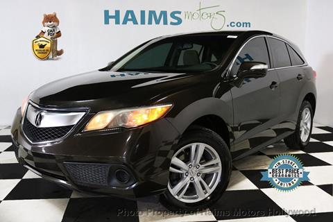 2015 Acura RDX for sale in Hollywood, FL