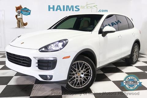 2016 Porsche Cayenne for sale in Hollywood, FL