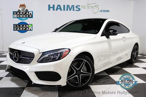 2017 Mercedes-Benz C-Class for sale in Hollywood, FL