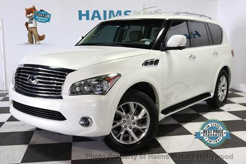 2011 Infiniti QX56 for sale in Hollywood, FL