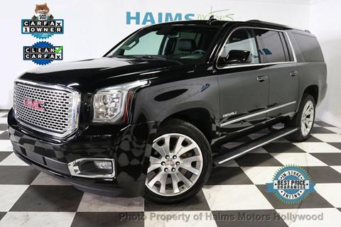 2016 GMC Yukon XL for sale in Hollywood, FL