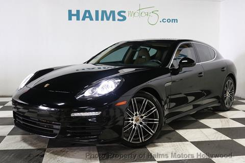 2015 Porsche Panamera for sale in Hollywood, FL