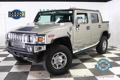 2007 HUMMER H2 SUT for sale in Hollywood, FL