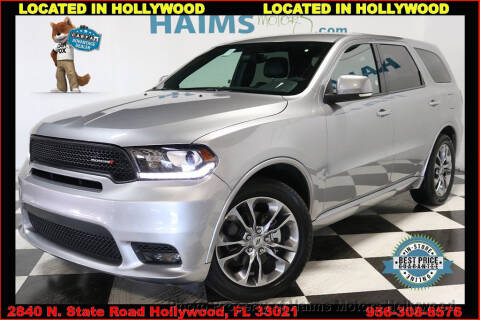 2019 Dodge Durango for sale at Haims Motors of Hollywood in Hollywood FL