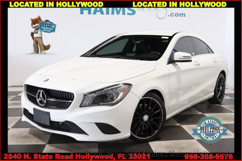 2014 Mercedes-Benz CLA CLA 250 4MATIC for sale at Haims Motors of Hollywood in Hollywood FL