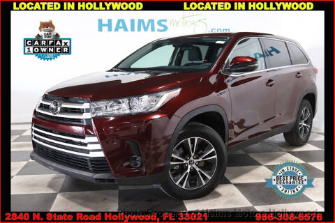2019 Toyota Highlander LE for sale at Haims Motors of Hollywood in Hollywood FL