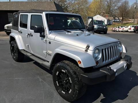 2011 Jeep Wrangler Unlimited for sale in Haleyville, AL