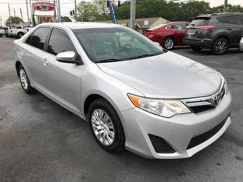 2014 Toyota Camry for sale in Haleyville, AL