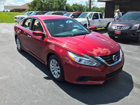 2016 Nissan Altima for sale in Haleyville, AL